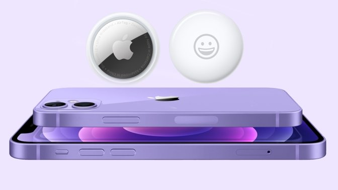 AirTag and purple iPhone 12 are now available for preorder