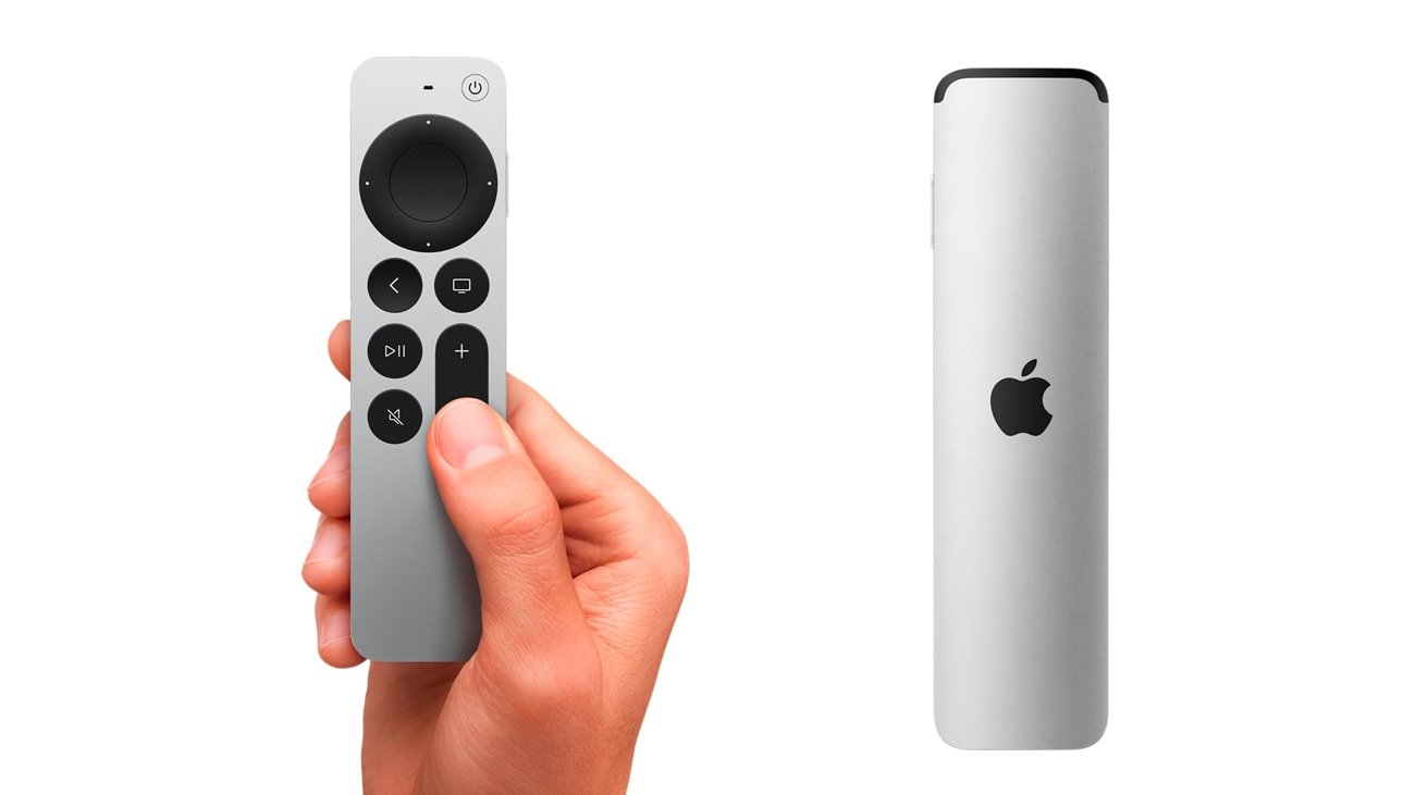 The second-generation Siri Remote brings back the clickwheel, with added touch capabilities.