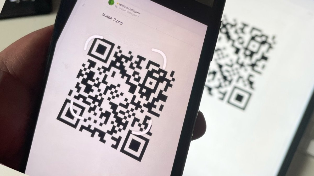 Give your guests a QR code and they can instantly log on to your Wi-Fi network