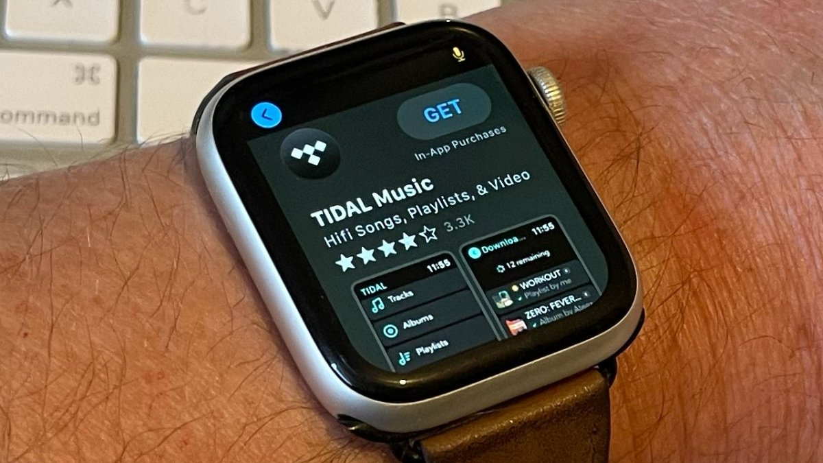 Tidal on Apple Watch now supports offline listening