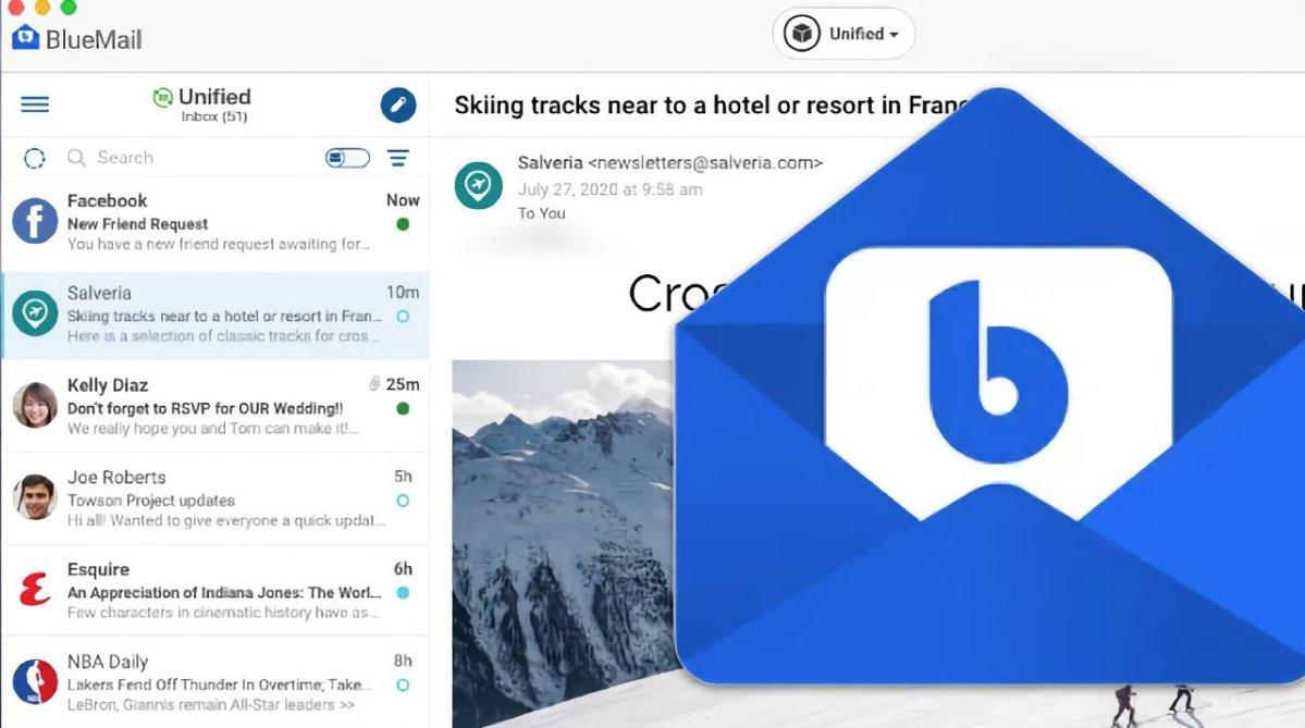 BlueMail by developer Blix