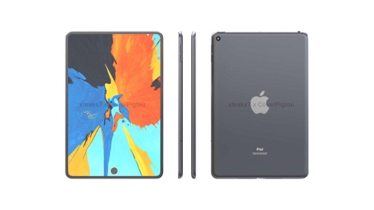 An early mock-up of the iPad mini 6 [David Kowalski and Pigtou]