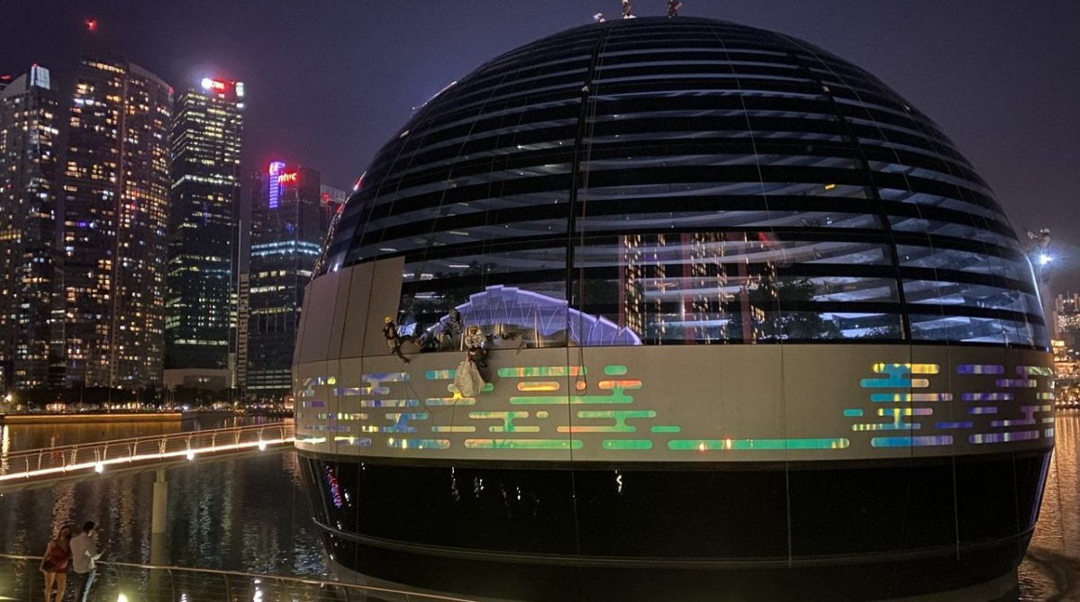 Apple Marina Bay Sands, Singapore