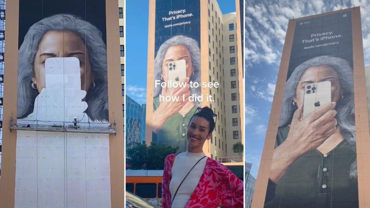 It took four artists one week to paint this giant mural