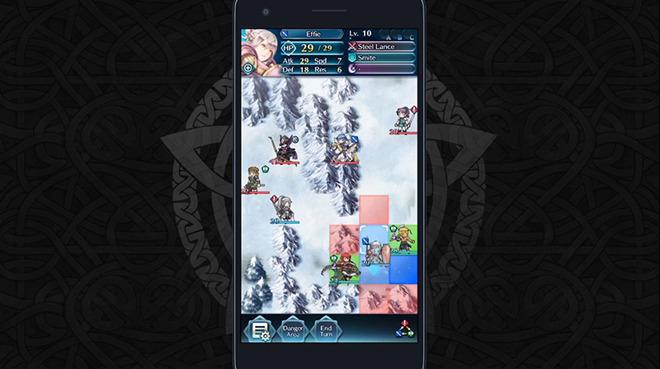 Resultat d'imatges de fire emblem heroes gameplay
