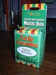 Hand-cranked Music Box