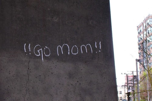 Random (But Positive) Graffiti (Vancouver Sun Run)
