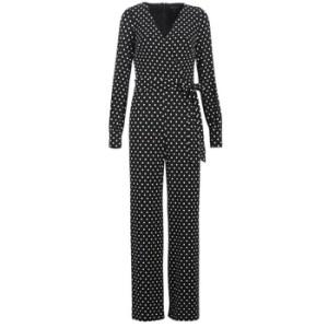 Ολόσωμες φόρμα Lauren Ralph Lauren POLKA DOT WIDE LEG JUMPSUIT