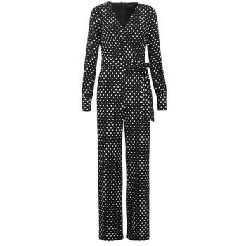 Ολόσωμες φόρμα Lauren Ralph Lauren POLKA DOT WIDE LEG JUMPSUIT Σύνθεση: Spandex,Πολυεστέρας
