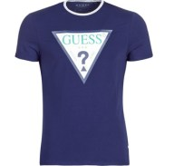 T-shirt με κοντά μανίκια Guess GUESS CLUB Σύνθεση: Elasthanne / Lycra / Spandex,Βαμβάκι,Spandex