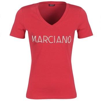 T-shirt με κοντά μανίκια Marciano LOGO PATCH CRYSTAL Σύνθεση: Βαμβάκι,Spandex
