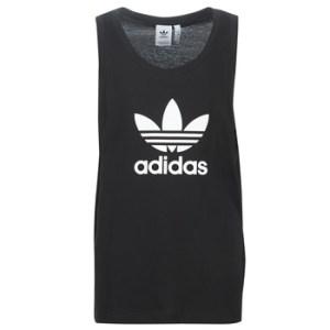 Αμάνικα/T-shirts χωρίς μανίκια adidas TREFOIL TANK Σύνθεση: Βαμβάκι