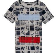 T-shirt με κοντά μανίκια Ikks YVES Σύνθεση: Βαμβάκι