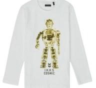 Μπλουζάκια με μακριά μανίκια Ikks XR10233 Σύνθεση: Βαμβάκι
