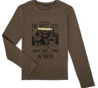 Μπλουζάκια με μακριά μανίκια Ikks XR10313 Σύνθεση: Βαμβάκι