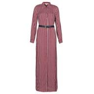 Μακριά Φορέματα MICHAEL Michael Kors WARM PLAYFL SHIRT DR Σύνθεση: Viscose / Lyocell / Modal,Βισκόζη
