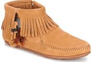Μπότες Minnetonka CONCHO FEATHER SIDE ZIP BOOT ΣΤΕΛΕΧΟΣ: Δέρμα & ΕΠΕΝΔΥΣΗ: Δέρμα & ΕΣ. ΣΟΛΑ: Δέρμα & ΕΞ. ΣΟΛΑ: Καουτσούκ