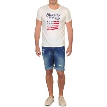 Shorts & Βερμούδες Freeman T.Porter DADECI SHORT DENIM