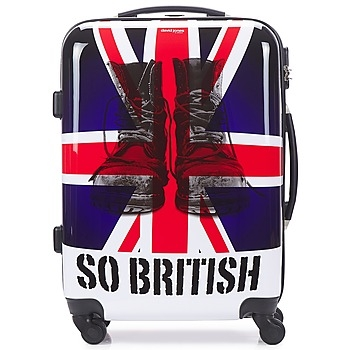 Βαλίτσα με σκληρό κάλυμμα David Jones UNION JACK 53L