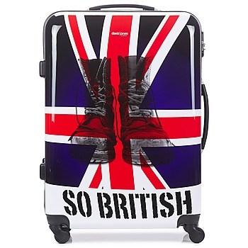 Βαλίτσα με σκληρό κάλυμμα David Jones UNION JACK 83L