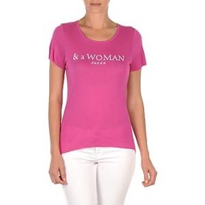 T-shirt με κοντά μανίκια School Rag TEMMY WOMAN ΣΤΕΛΕΧΟΣ: Ύφασμα & Σύνθεση: Viscose / Lyocell / Modal,Βισκόζη