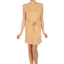 Κοντά Φορέματα Majestic CAMELIA Σύνθεση: Λινό & ΣΤΕΛΕΧΟΣ: Ύφασμα