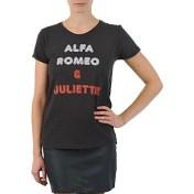 Kulte T-shirt με κοντά μανίκια Kulte LOUISA ROMEO 101950 NOIR 2018