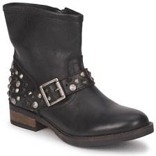 Μπότες Pieces ISADORA LEATHER BOOT