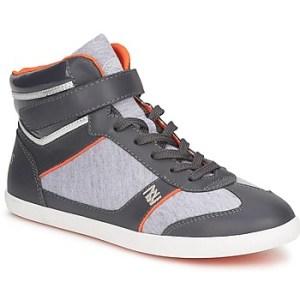 Ψηλά Sneakers Dorotennis MONTANTE LACETS VELCRO ΣΤΕΛΕΧΟΣ: Δέρμα & ΕΠΕΝΔΥΣΗ: Ύφασμα & ΕΣ. ΣΟΛΑ: Ύφασμα & ΕΞ. ΣΟΛΑ: Καουτσούκ