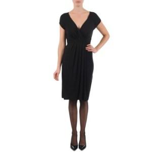 Κοντά Φορέματα La City ROBE3D1B Σύνθεση: Viscose / Lyocell / Modal,Spandex,Βισκόζη