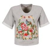 Manoush T-shirt με κοντά μανίκια Manoush GIPSY 2018