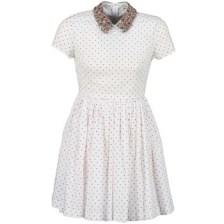Κοντά Φορέματα Manoush PLUMETIS STRASS Σύνθεση: Βαμβάκι & Σύνθεση επένδυσης: Βαμβάκι
