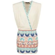 Κοντά Φορέματα Antik Batik POLIN Σύνθεση: Βαμβάκι,Βισκόζη & Σύνθεση επένδυσης: Βαμβάκι,Λινό