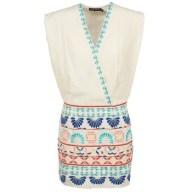 Κοντά Φορέματα Antik Batik POLIN Σύνθεση: Viscose / Lyocell / Modal,Βαμβάκι,Βισκόζη & Σύνθεση επένδυσης: Βαμβάκι,Λινό