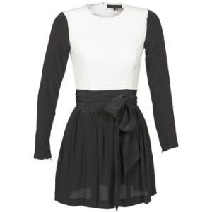 Κοντά Φορέματα American Retro STANLEY Σύνθεση: Μετάξι & Σύνθεση επένδυσης: Matière synthétiques,Πολυεστέρας