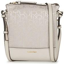 Τσάντες ώμου Calvin Klein Jeans MARINA LOGO FLAT CROSSBODY