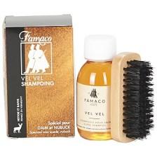 Φροντίδα Famaco Flacon shampoing Vel Vel 100 ml brosse