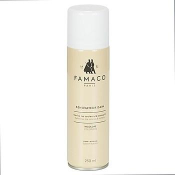 Φροντίδα Famaco Aérosol Rénovateur Daim incolore 250 ml
