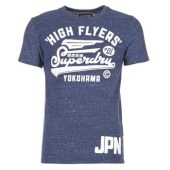 T-shirt με κοντά μανίκια Superdry HIGH FLYERS REWORKED image