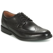 Smart shoes Clarks Black Leather image