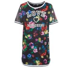 Κοντά Φορέματα Love Moschino W5A0302 Σύνθεση: Πολυεστέρας & Σύνθεση επένδυσης: Βαμβάκι