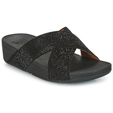 Mules FitFlop CRYSTAL II SLIDE SANDALS