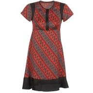 Κοντά Φορέματα Sisley ZEBRIOLO Σύνθεση: Πολυεστέρας