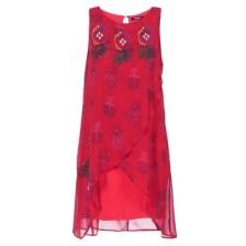 Κοντά Φορέματα Desigual DORIJE Σύνθεση: Πολυεστέρας & Σύνθεση επένδυσης: Spandex,Βισκόζη