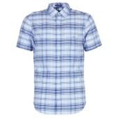 Πουκάμισο με κοντά μανίκια Gant BLUE PACK MADRAS REG image