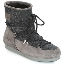 Μπότες για σκι Moon Boot FAR SIDE LOW SUEDE GLITTER