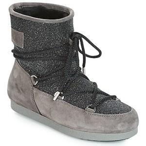 Μπότες για σκι Moon Boot FAR SIDE LOW SUEDE GLITTER