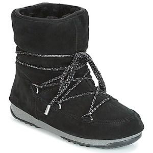 Μπότες για σκι Moon Boot LOW SUEDE WP ΣΤΕΛΕΧΟΣ: Δέρμα & ΕΠΕΝΔΥΣΗ: Συνθετική γούνα & ΕΣ. ΣΟΛΑ: Συνθετικό & ΕΞ. ΣΟΛΑ: Καουτσούκ