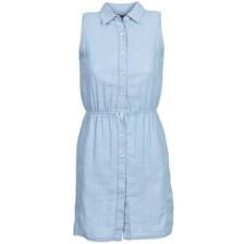 Κοντά Φορέματα Gant O. INDIGO JACQUARD Σύνθεση: Βαμβάκι