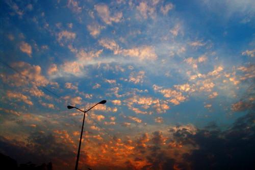 cielo de colores